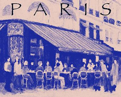 Painting - Paris Poster 3 by J Reifsnyder