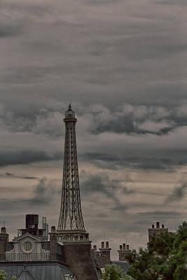 Photograph - Paris Radio Tower by Nicholas Evans