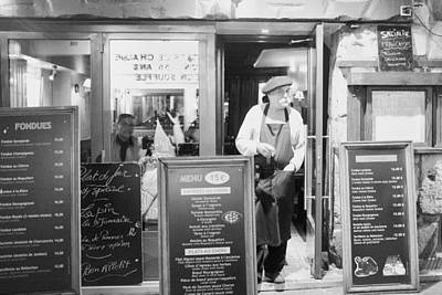 Paris Restaurant Owner Original