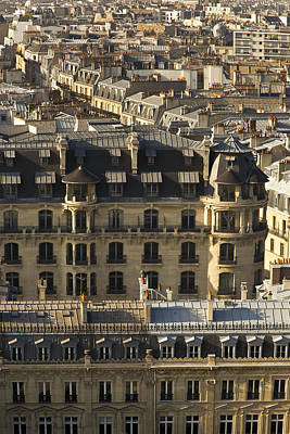 Photograph - Paris Roof Tops by Hany J