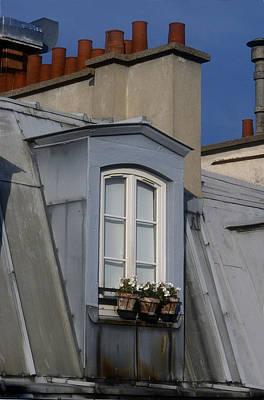 Photograph - Paris Rooftop by Harold E McCray