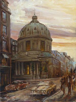 Paris Painting - Paris - Rue St. Honore by Irek Szelag