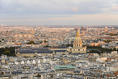 Paris Skyline Royalty-Free and Rights-Managed Images - Paris Skyline Civilization Les Invalides by Ivy Ho