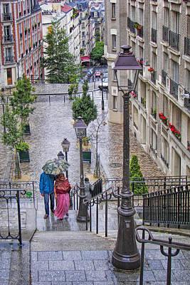 Photograph - Paris Sous La Pluie by Nikolyn McDonald
