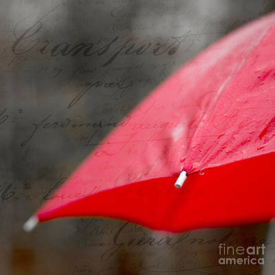 Pour Photograph - Paris Spring Rains by Edward Fielding