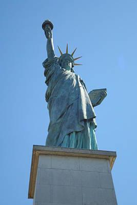 Paris Statue Of Liberty Art Print by Kay Gilley