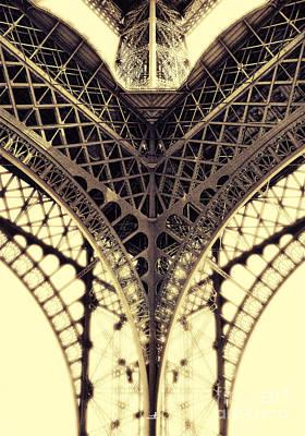 Paris Steel Art Print