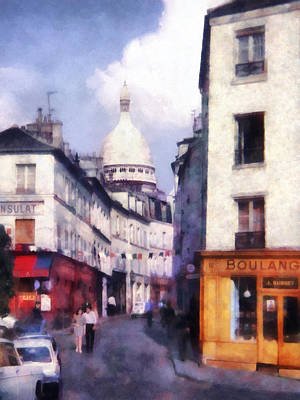 Photograph - Paris Street by Susan Savad