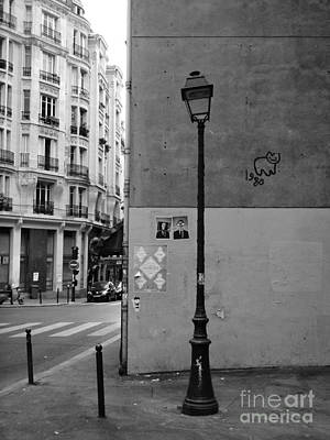 Photograph - Paris Streetlamp by Louise Fahy