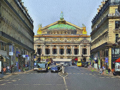 Paris Streets 6 Art Print
