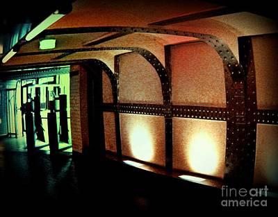 Antlers - Paris Subway Entrance by John Malone