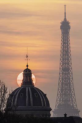 Paris Sunset IIi Art Print