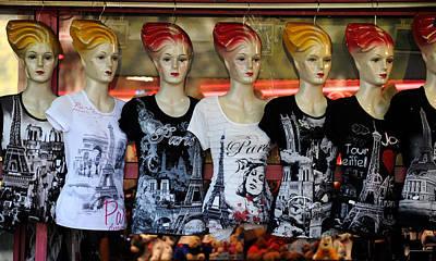 Wall Art - Photograph - Paris T-shirts by Mark Sullivan