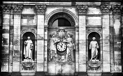 Photograph - Paris Time by John Rizzuto