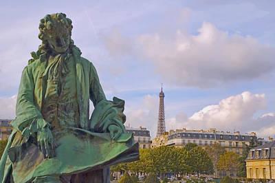 Photograph - Paris View #4 by Mick Burkey