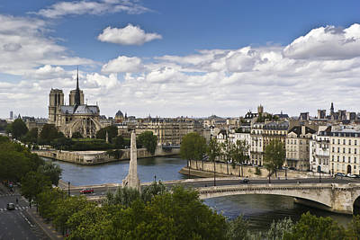 Photograph - Paris View Notre Dame by Gary Eason