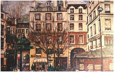 Painting - Paris by Walter Casaravilla