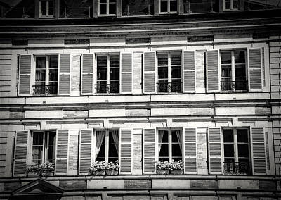 Photograph - Paris Windows by Bill Howard