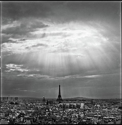 Photograph - Paris With Sunlight After Rain by Artmarie