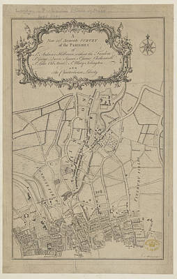 Old Street Photograph - Parishes Of London by British Library