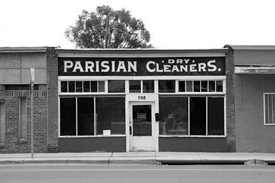 Photograph - Parisian Dry Cleaners by Daniel Woodrum
