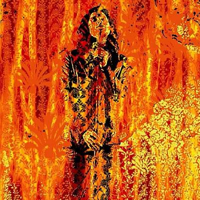 Concert Photograph - Parisian Fireplace by Doggytours Art