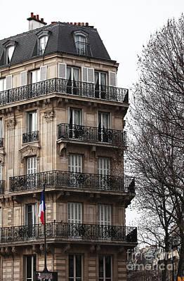 Photograph - Parisian Living by John Rizzuto