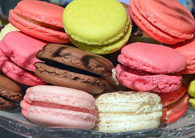 Photograph - Parisian Macarons by Carla Parris