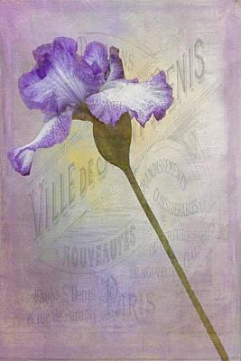 Parisian Purple Art Print by Chanin Green