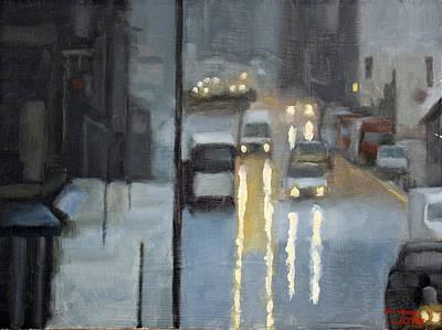 Parisian Storm Art Print