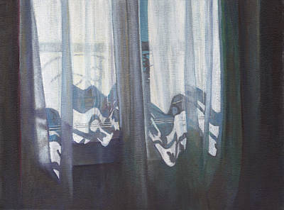 Painting - Parisienne Window by Helen White