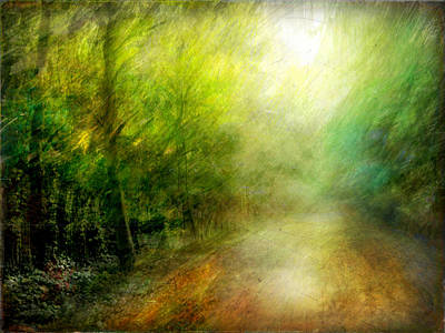 Art Print featuring the photograph Park #7. The Colors Of Silence by Alfredo Gonzalez
