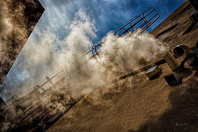 Photograph - Park Alley Steam by Bob Orsillo