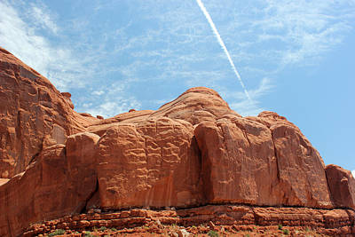 Photograph - Park Avenue Arches National Park 2 by Mary Bedy