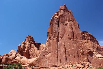 Photograph - Park Avenue Arches National Park 3 by Mary Bedy