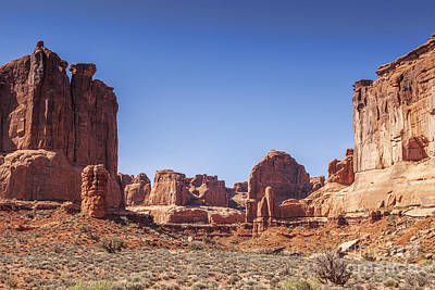 Photograph - Park Avenue Arches National Park Utah Usa by Colin and Linda McKie