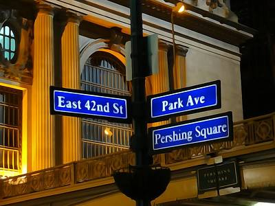 Pershing Photograph - Park Avenue by Dan Sproul