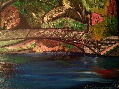 Park Art Print by Barbara Judkins-Stevens