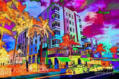 Mistletoe - Park Central Hotel South Beach  by Michael Moriarty