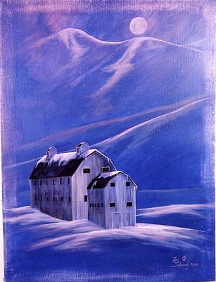 Painting - Park City Barn by Lori Salisbury