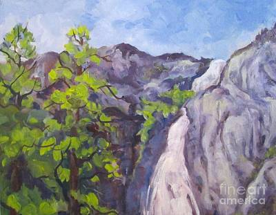 Painting - Park Falls by Pat Crowther