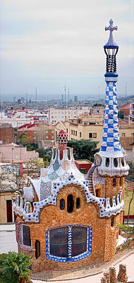 Photograph - Park Guell Candy House - Gaudi by Weston Westmoreland