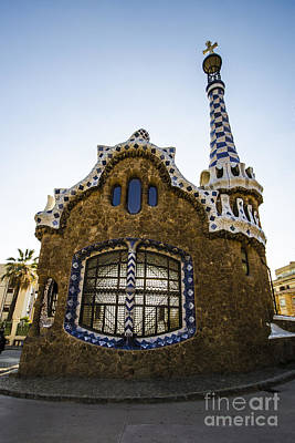 Photograph - Park Guell Lodge by Deborah Smolinske