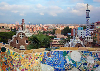 Photograph - Park Guell by Michal Bednarek
