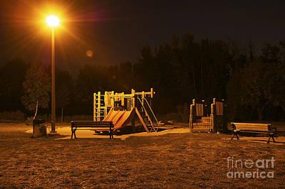 Wall Art - Photograph - Park In The Dark by Christine Mlynarchuk