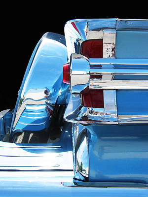 Photograph - Park Lane Chrome by Larry Hunter