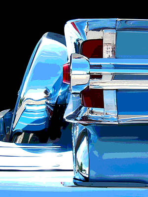 Photograph - Park Lane Chrome -posterized by Larry Hunter