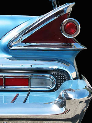 Photograph - Park Lane Tail Light by Larry Hunter