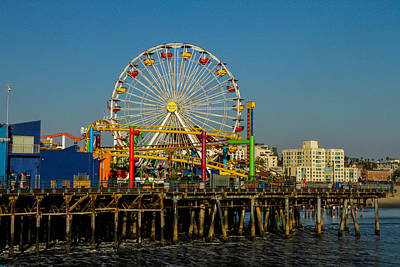 Photograph - Park On The Pier by Robert Hebert