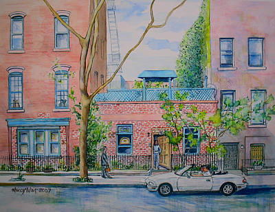 Painting - Park Place by Nancy Wait